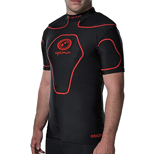 Optimum Origin - Camiseta deportiva acolchado hombros