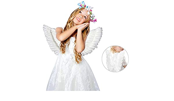 Wings Womens Fancy Dress Xmas Party New Adult Ladies Christmas Angel Costume