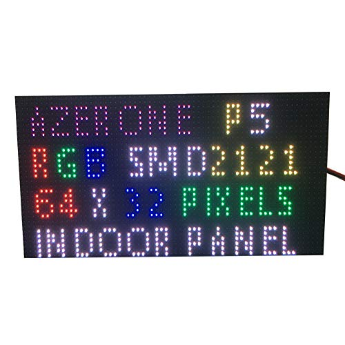 P5 Innen Full Color LED Display Panel 64 x 32 Pixel 320 mm x 160 mm Größe 1/16 Scan SMD 2 in1 Two in One 5 mm RGB Board P5-LED-Modul Led-matrix-display