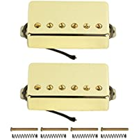 FLEOR Alnico 5guitarra eléctrica Reemplazo de pastillas selladas para guitarra estilo LP