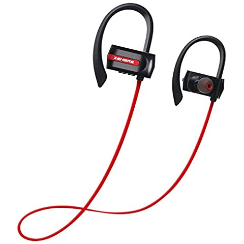 Oreillette Bluetooth, ZENBRE E3 Écouteurs Stéréo Bluetooth 4.1, Écouteurs sans