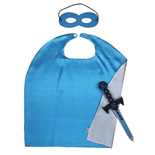 Maske und Schwert Kostüm Sets für sicher für Geburtstags-Party-Aktivitäten 27.527.5