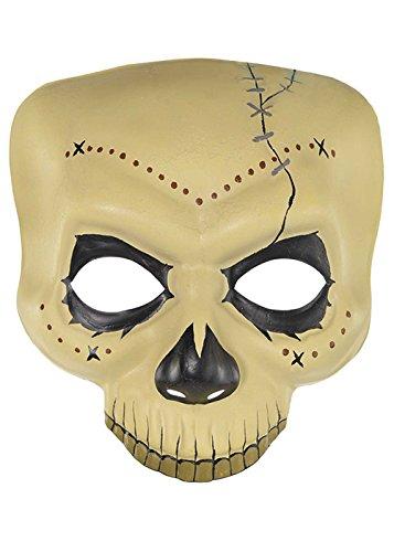 Halloween-Hexe-Doktor Voodoo-Schädel-Maske