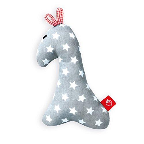 Baby Spielzeug Rassel Giraffe Antoine (Erstaustattung Greifling Geschenk Stoff)