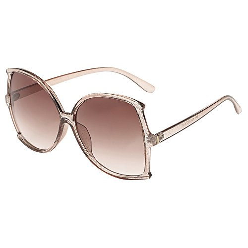 Pottoa - Sonnenbrille Sonnenbrille Unisex, Polarisiert Sport Unisex Sonnenbrille Groß Unisex Sonnenbrille Katzenauge Sonnenbrille in Modischer Form, Oversize