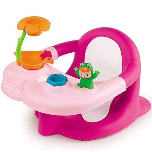 #1118 Rosa Badesitz mit Spielelementen ab 6 Monaten - Baby Badespaß Badewannensitz Babysitz pink rosa Bade Spielzeug