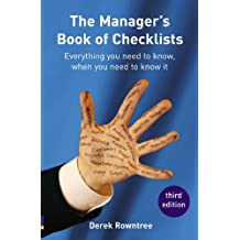 Manager's Book of Checklists: everything you need to know, when you need to know it