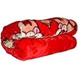 Kids Cartoon Print Warm Winter Microfiber Fleece Baby's Plush And Super Soft Blankets/Baby Blanket Double Layer Swaddling Blankets For Babies (0-3 Year) By DESTINATION (Print1)