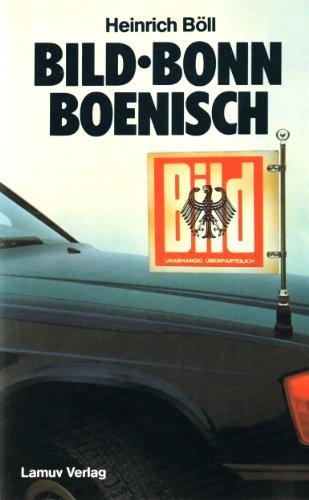 Bild, Bonn, Boenisch