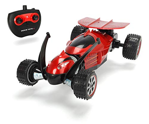 Dickie Toys 201119139 Mantiz RC-Fahrzeug mit Schlängelfunktion, ferngesteuertes Auto mit Einer Geschwindigkeit von bis zu 8km/h, 2,4GHz, Rot