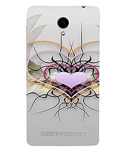 PrintVisa Web of Love Design 3D Hard Polycarbonate Designer Back Case Cover for VivoY28