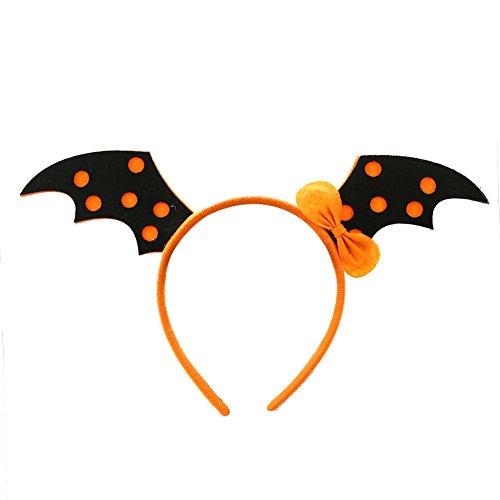 jianfeng Halloween Prop Make-up Party Haarband für Kinder Einheitsgröße (Mädchen Kostüm Office Halloween)