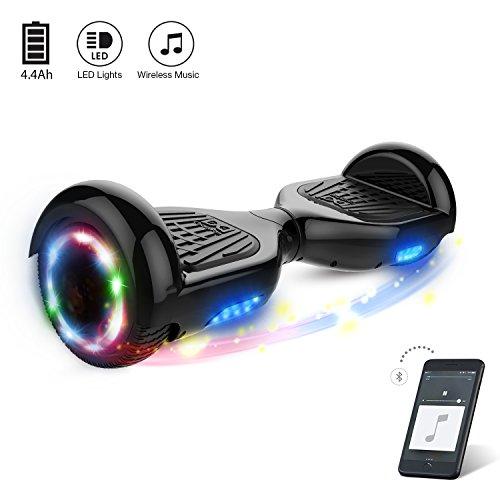 Cool&Fun Hoverboard Elektro Scooter E-Balance E-Skateboard Bluetooth 6,5