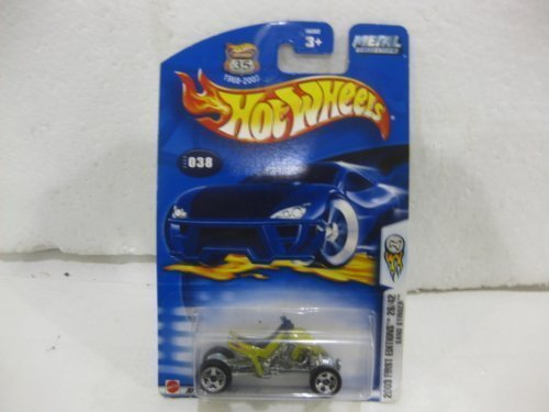 2003 First Edition #26 Of 42 Sand Stinger In Green Diecast 1:64 Scale Collector #38 By Hot Wheels by diecast 164 scale (Green Stinger)