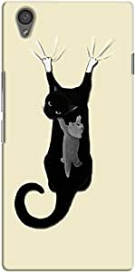 DailyObjects Cats on the Drapes Case For OnePlus X