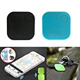 LANSKIRT Bluetooth, 2 stücke Smart GPS Finder Locator Pet Tracker Bluetooth Schlüsselfinder Drahtlose Sucher