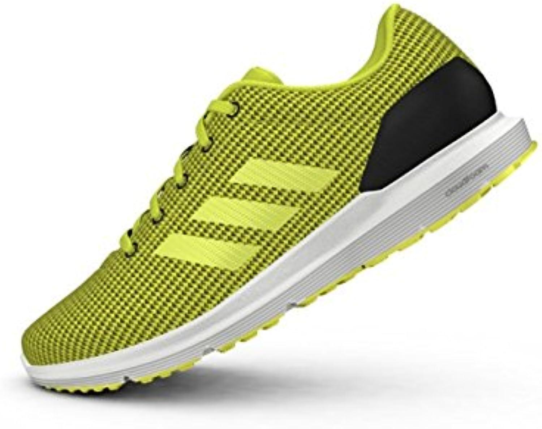 Adidas Cosmic M, Zapatillas de Running para Hombre, Negro (Negbas/Limsho / Ftwbla), 45 1/3 EU
