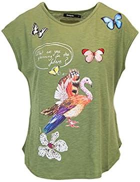 Desigual T-Shirt Donna Manica Corta TS So What 18SWTKHO