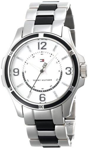Tommy Hilfiger 1780862 - Reloj para mujeres, correa de acero inoxidable color plateado