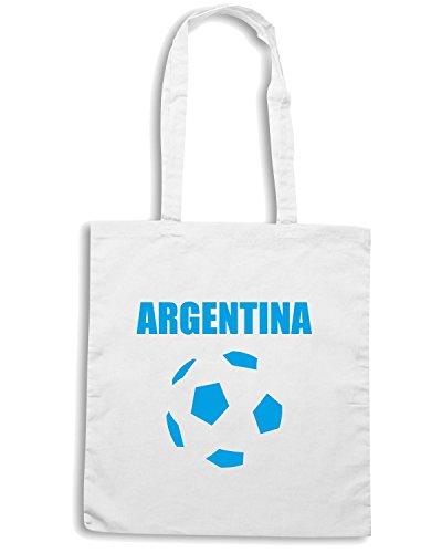 T-Shirtshock - Borsa Shopping WC0019 ARGENTINA Bianco