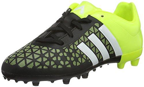adidasAce15.3 Terrain - Scarpe da calcio americano Bambino , multicolore (Bianco/Nero/Giallo), 36