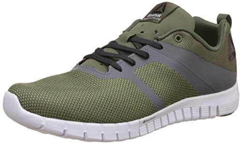 Reebok Herren ZQuick Lite 2.0 Traillaufschuhe, Grün (Hunter Green/ash Grey/Coal/Alloy/White), 43 EU -