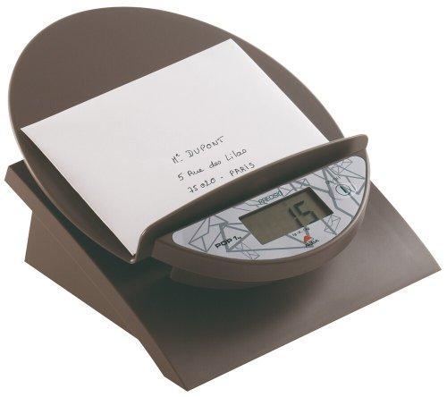 ALBA elektronische Briefwaage POP/PREPOP1G dunkelgrau Kunststoff ABS bis 1 kg