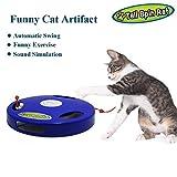 Juguete de Mascotas para Gatos Juguetes Interactivo Juguete de Atracciones Plate Trilaminar Torre de pistas de Bolas y Super Oferta