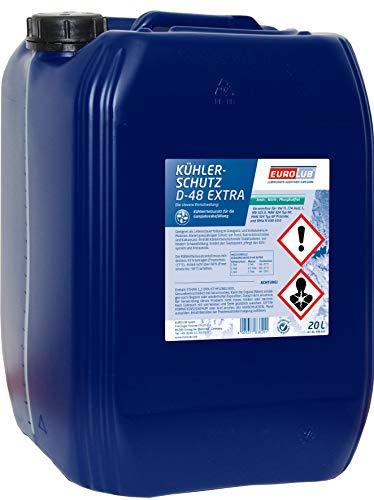 EUROLUB 836020 Kühlerschutz D-48 Extra, 20 Liter