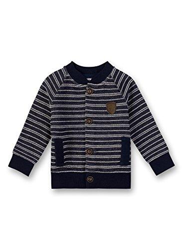 Sanetta Baby-Jungen Sweatjacket Sweatjacke, Blau (Deep Blue 5993.0), 68