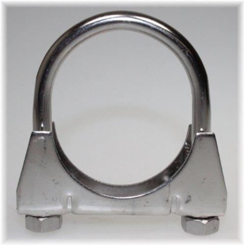 Preisvergleich Produktbild Auspuff Edelstahl V2A Bügel Schelle U-Bolt Clamp M8x 67 mm