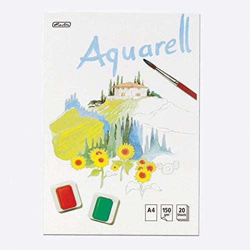 Herlitz Aquarellblock 00495457 A4 20 Bl.