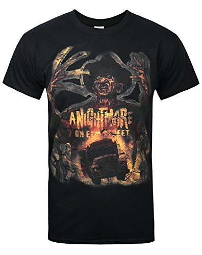 Uomo - Official - Nightmare On Elm Street - T-Shirt (S)