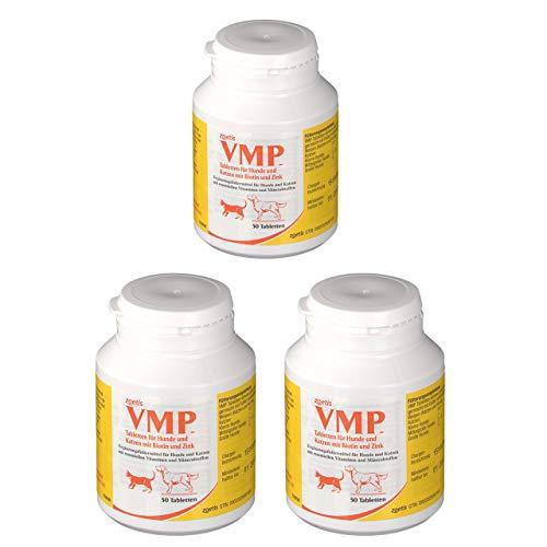 VMP für Hund und Katze, 3x Dose a 50 Tabletten