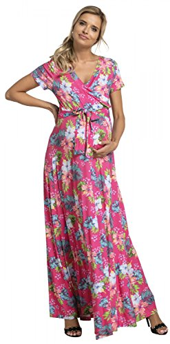 7c2008d24 Para Mujer Vestido Largo premamá y de Lactancia Manga Corta. 599p (