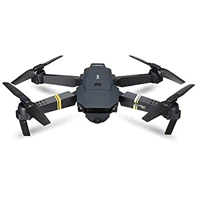 DyausDrone EACHINE E58 FPV Quadcopter - Wi-Fi 720HD Remote Controlled Drone Camera – Real Time Transmission for Live Streaming – Mobile APP for Ultimate Control –User-Friendly Interface - Wide Angle Hold Mode