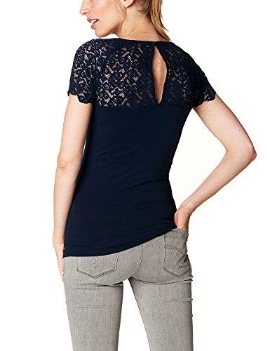 Esprit Maternity Ss P84764, T-Shirt de Maternité Femme Blau (Night Blue 486)