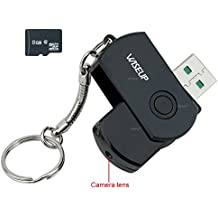 WISEUP 8GB Mini Telecamera Spia Chiavetta USB Videoregistratore Videocamera DVR di Sicurezza con Funzione Audio