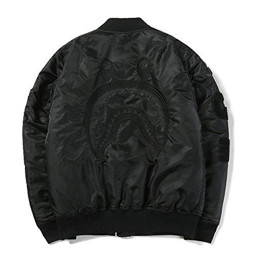 Männer Herbst Und Winter Jacke Baseball Anzug Jacke Stickerei Baumwolle MA1 Flight (Flight Suit Herren)