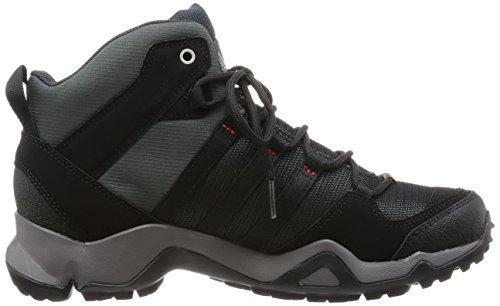 adidas Men's AX 2.0 Mid GTX Hiking Shoes Black Size: Gris (dark Shale/black 1/light Scarlet)
