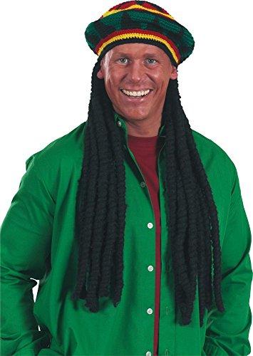Reggae Mütze Jamaica Rastafari Karneval Fasching (Party Kostüme Reggae)