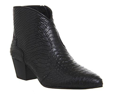 Ash Hurrican Boots a Talon Femme Noir