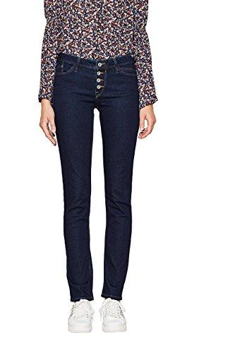 edc by ESPRIT Damen Slim Jeans 997CC1B815, Blau (Blue Rinse 900), W32/L30