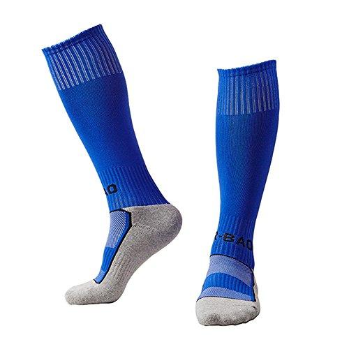 Spove Kinder Fußball Socken Atmungsaktiv Sport Ausbildung Socken für Rugby Eishockey Laufen Radfahren Fitness Wandern Unisex
