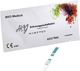 MXG Medical Schwangerschaftstest - Empfindlichkeit: 10mIU/ml, 15 Stück