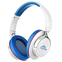 [CNET�??s PICK] Mixcder ShareMe Wireless Bluetooth Headphones with Mic, Shareme Fuction, Bluetooth 4.1 Stereo Headset with Over-ear Foldable Earphones for Adults Kids - White