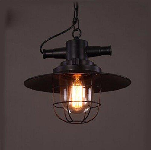 GZLOFT Vintage Pendelleuchte Kronleuchter Kreative Haushalt Beleuchtung und Chic Persönlichkeit und das Schlafzimmer Restaurants Bars Lampen explosionsgeschützt Industrial Style 35 * 30cm.