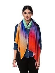 Shingora Multicolor Ombre Woollen Stole