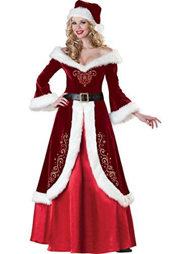 Damen Erwachsene–Partys und Partys–Damen von Saint Nicholas (Kostüm Renne Noel)