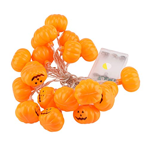 Fdit 20 LED String Lights Halloween Lustige Kürbis Geformte Licht Festliche Party Indoor Outdoor Haus Dekorative Lampe -